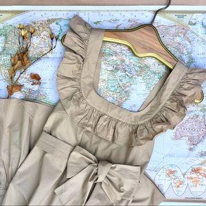 🧺 UO •• Ruffle Apron Dress